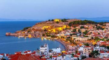"""Midilli Adasının Merkezi """"Mytilene"""""""